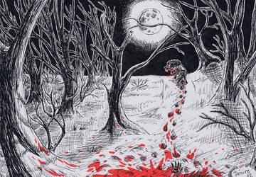 Bloody night by PeiTao