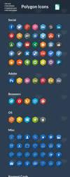 85 Hexagonal Icons by slayerD1
