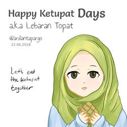 Happy Ketupat Days 2018 by ArdiantaPargo