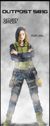 Outpost 581G Security Officer Valentine by wasteawar