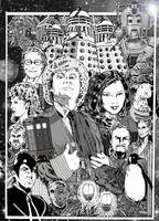 Doctor Who - The Colin Baker Years (1984 - 1986) by TardisTailz700