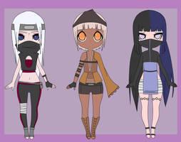 Naruto Adoptables Batch 2 (CLOSED) by Lyndsay-Washington