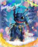 New Year Stitch by arucarrd