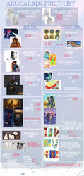 OLD price list by arucarrd