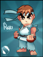 Ryu by ChrisDoebber