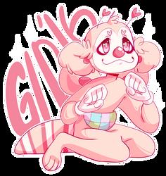 Buggy Sticker! by Elmomola
