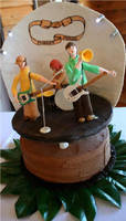 Modest Mouse Groomscake by gypsy-arts
