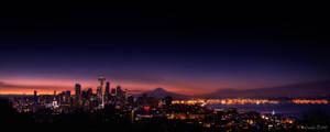 Seattle Pano 09 by UrbanRural-Photo