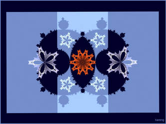 Mandelbrot Blossoms by Lupsiberg