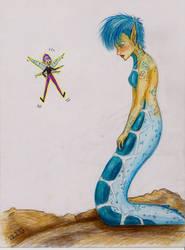 Sweet Miss Blue by Cheikki
