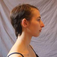 Face Portrait - hair pinned by CuriousPeaches