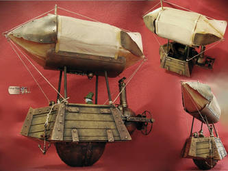 Steampunk Dirigible by Diarment