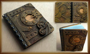 Steampunk Notebook II by Diarment