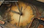 Steampunk Clock IV detail by Diarment