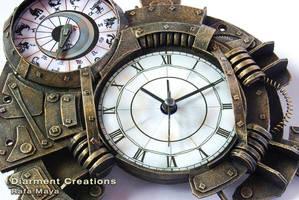 Clock and Zodiac Calendar by Diarment