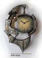 Steampunk Clock XXV by Diarment