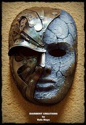 Steampunk Metal Stone Mask by Diarment