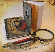 Steampunk Notebooks New by Diarment