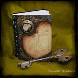 Notebook Vitruvian Man by Diarment