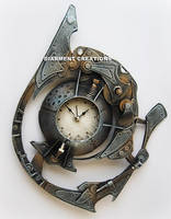 Steampunk Spiral Time by Diarment