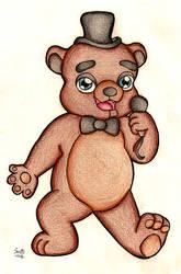 Freddy Fazbear by suzie-chan