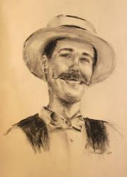Michael C. Portrait by PaintedLiLy