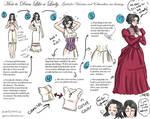 how to dress like a lady. by ryuuenx
