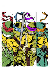 Teenage Mutant Ninja Turtles by theclapboard55