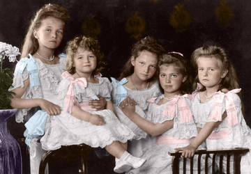 The Romanov Children by aslutforhistory