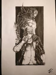 DMC 4 Nero and Devil Trigger by Calvxz