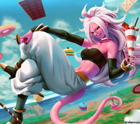 Android 21 by whoareuu