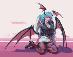 Morrigan by whoareuu