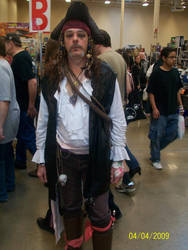 Captain Jack Sparrow by thejamz