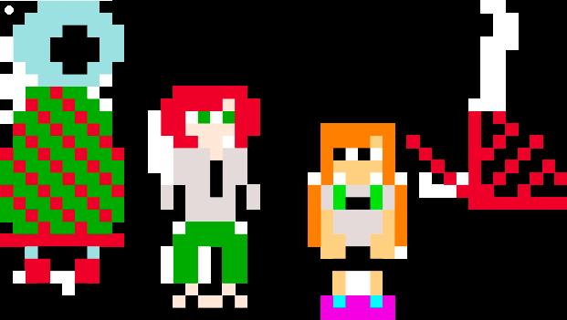 Pixel People by Metaluck768