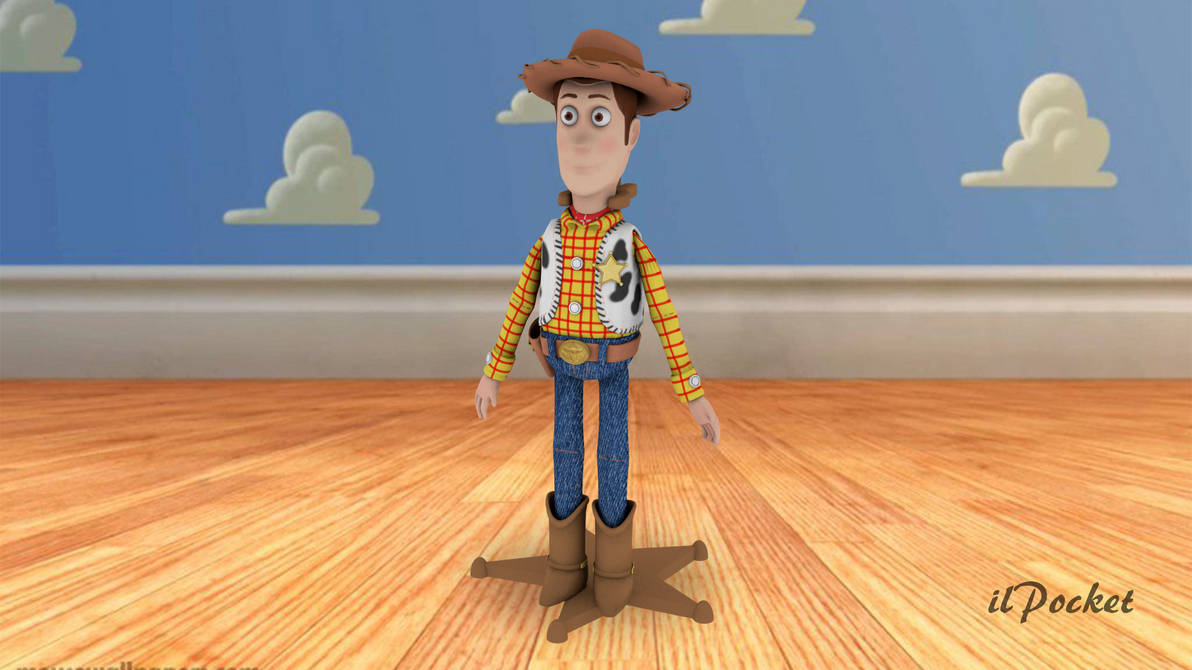 Sheriff Woody Toy Story By Ilpocket On Deviantart