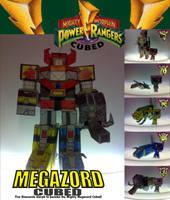 Megazord Cubed by mama-yukero