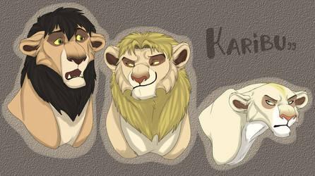 Lion! B_R_A by Karibu99