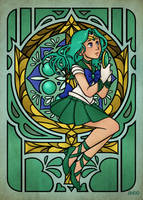 Sailor Neptune by Draw-out-loud