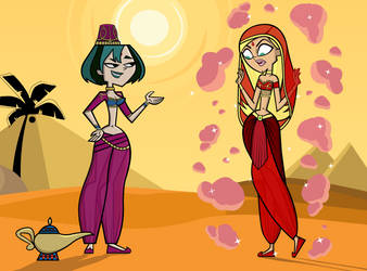 Total Drama: The Genie and The Servant by SAGraphics1997