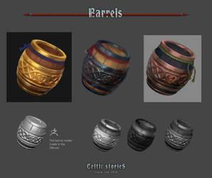 Barrels by Cheza-Kun