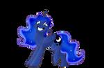 Luna smile? by Rutkotka