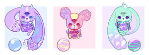 Sympop Bed Time Adoptable Batch #13 CLOSED by Voodoo-Doll-Art