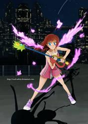 Kingdom Hearts 3? Go Go Kairi by whitechariot