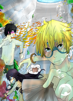 Summer contest with Oz, Gil and Alice~ by DICE-Shimi