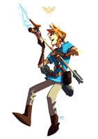 Zelda : What a beautiful arrow! by DICE-Shimi