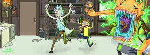 Rick And Morty by chokidokii