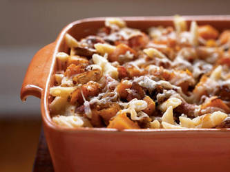 Roasted Butternut Squash and Bacon Pasta by ArchieRennie