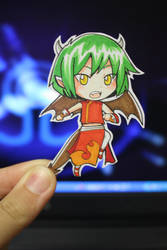 Chibi Paper Child: Draco by cafe-delight