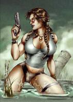Lara Croft - Tomb Raider 01 by Seabra