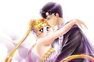 Sailor Moon: Miracle Romance by alexielart
